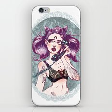 pin up sailor chibi moon! iPhone & iPod Skin