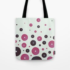 Sea's Design - Urchin Skeleton (Pink & Black) Tote Bag
