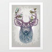 Magic Buck Art Print