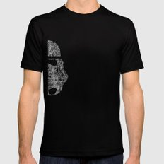 Lines of Trooper Black SMALL Mens Fitted Tee