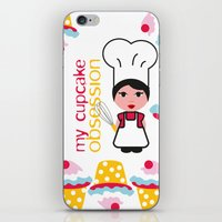 Cupcake Obsession iPhone & iPod Skin