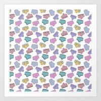 Pattern Project #44 / Un… Art Print