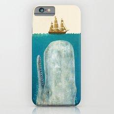 The Whale - colour option iPhone 6 Slim Case