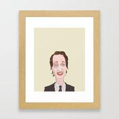 Buscemi Framed Art Print