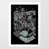 Irregular Sleeping Pattern Art Print