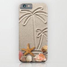 Pearl on Sand iPhone 6 Slim Case