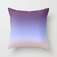 Twilight Dots Throw Pillow