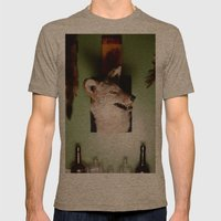 'Yote Mens Fitted Tee Tri-Coffee SMALL