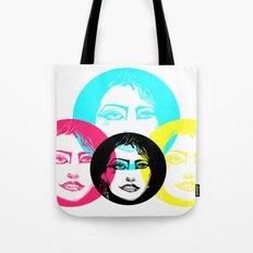 CMYK Punk Tote Bag