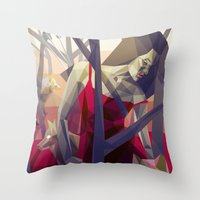 Of the hunt Throw Pillow