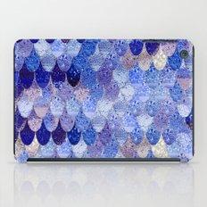 SUMMER MERMAID ROYAL BLUE iPad Case