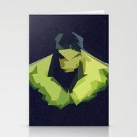 hulk Stationery Cards featuring Hulk by Javier Martinez