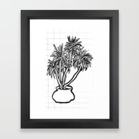potential tree Framed Art Print