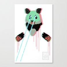 Panda with F$%king Lazers Canvas Print