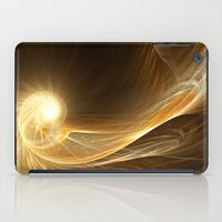 Golden Spiral iPad Case