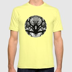 I found you Mens Fitted Tee Lemon SMALL