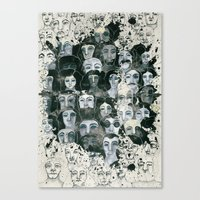 The elected ones Canvas Print