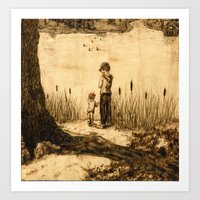 Do You See Them? Art Print