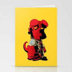 The Hero From Hell Stationery Cards