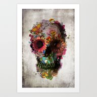 Art Print featuring SKULL 2 by Ali GULEC