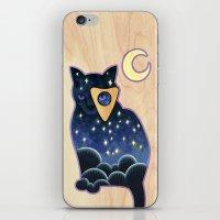 Ouija Cat iPhone & iPod Skin