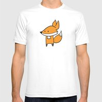 Fox Mens Fitted Tee White SMALL