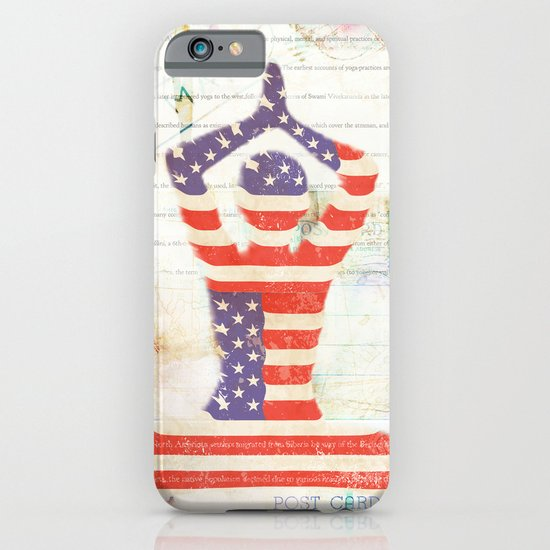 Americana Yoga iPhone & iPod Case