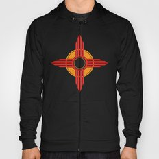 New Mexico Zia - Red Hoody