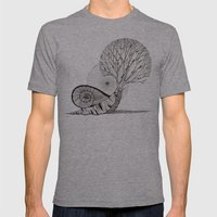 Untitled II Mens Fitted Tee Athletic Grey SMALL