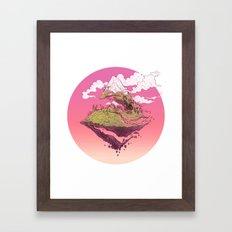 Spiral Mountain Framed Art Print