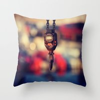 MORNING 3 Throw Pillow
