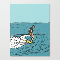 Surf Series | Slipnslide Canvas Print