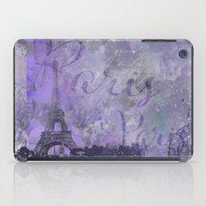 Purple Paris iPad Case