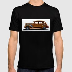 1938 Hudson Terraplane Mens Fitted Tee Black SMALL