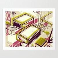 Matchbox Art Print