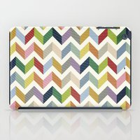 Vintage Chevron - Color … iPad Case