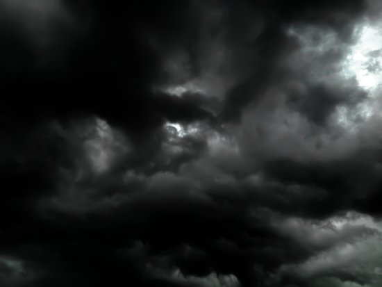 Veiled Sky Art Print