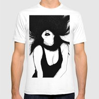Pin Up White Version Mens Fitted Tee White SMALL