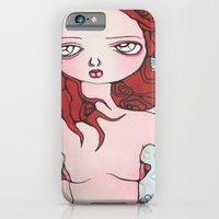 iPhone & iPod Case featuring He called her the girl of the sea by Braidy Hughes
