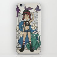 Monsters And Me! iPhone & iPod Skin