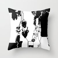 Conflicted Collection Throw Pillow
