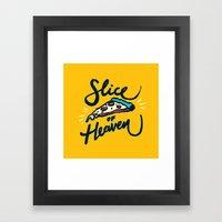 Slice Of Heaven 3/3 Framed Art Print