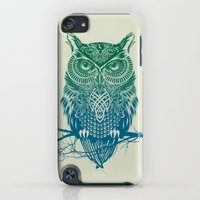 iPhone Cases featuring Warrior Owl by Rachel Caldwell