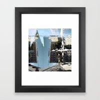 Summer space, smelting selves, simmer shimmers. 14 Framed Art Print