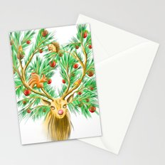 Have you finish your christmas tree yet? Stationery Cards