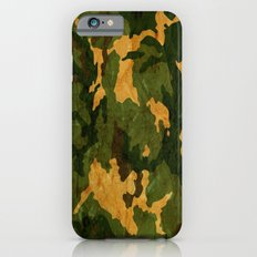 Camouflage Muster Grunge Slim Case iPhone 6s