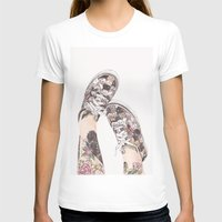 shoes T-shirts featuring Shoes by Carlos ARL
