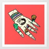 Precious Hand Art Print