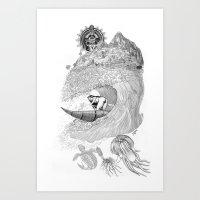 Machu Qun Tiksi Wiraquch… Art Print
