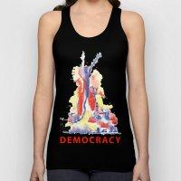 democracy Unisex Tank Top
